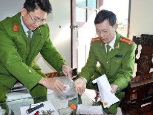 Tang vật của các vụ trộm cắp tài sản trên địa bàn TP Hạ Long được Đội CSĐT về TTXH Công an TP Hạ Long thu giữ.