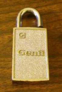 khóa nam châm Genii.